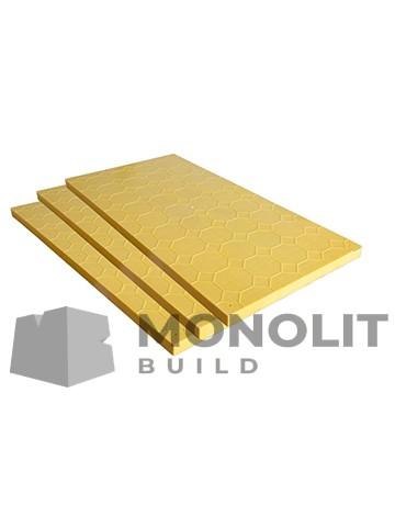Plastic sheets for formwork