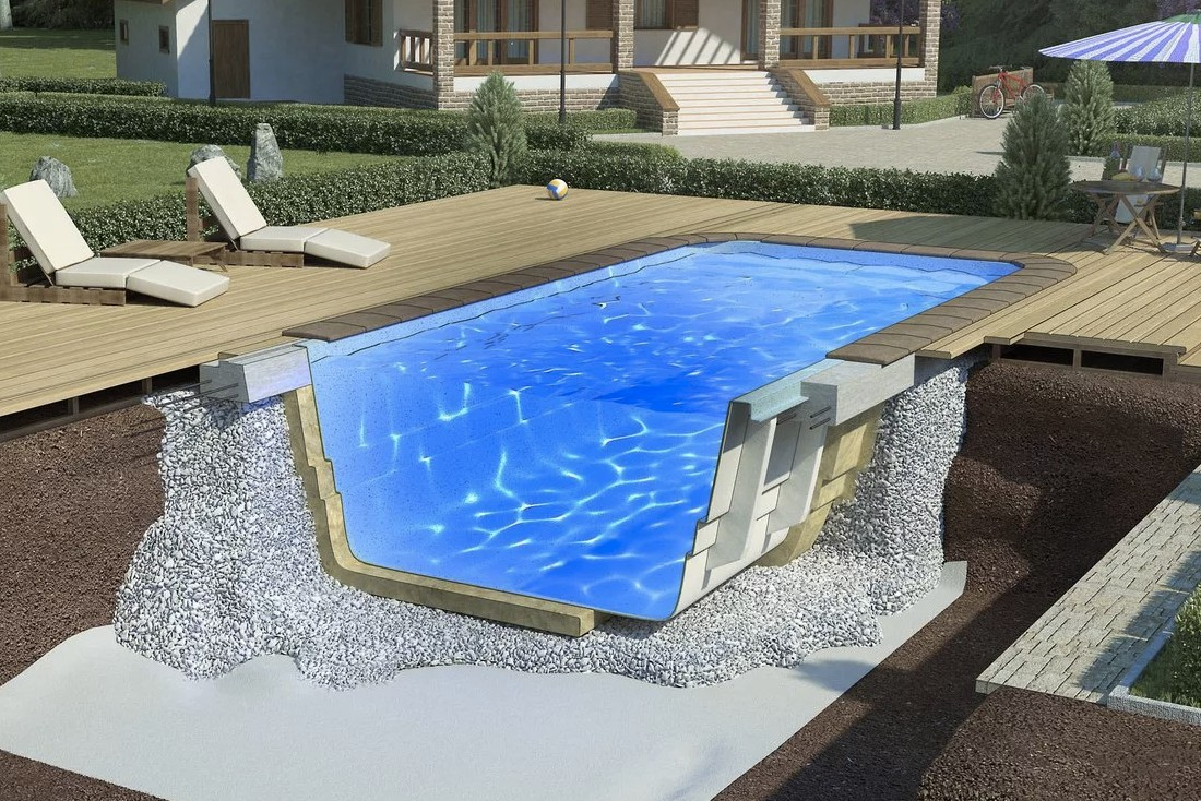How to make the waterproofing of the pool. All stages of work