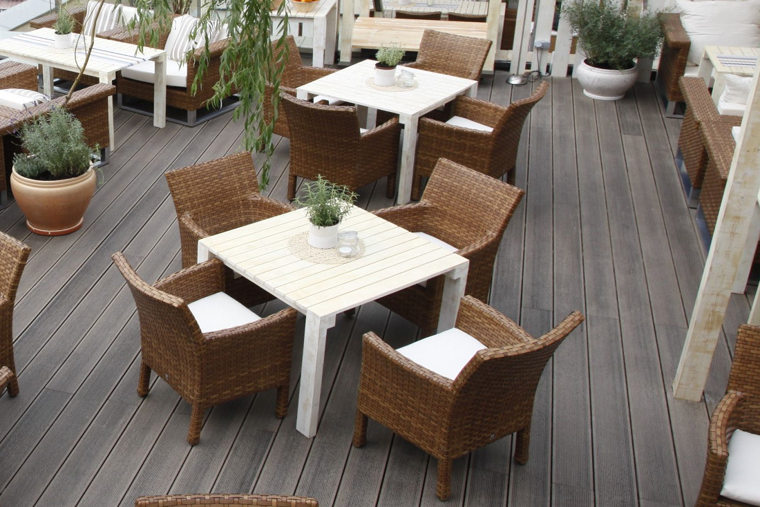 How to make a summer terrace