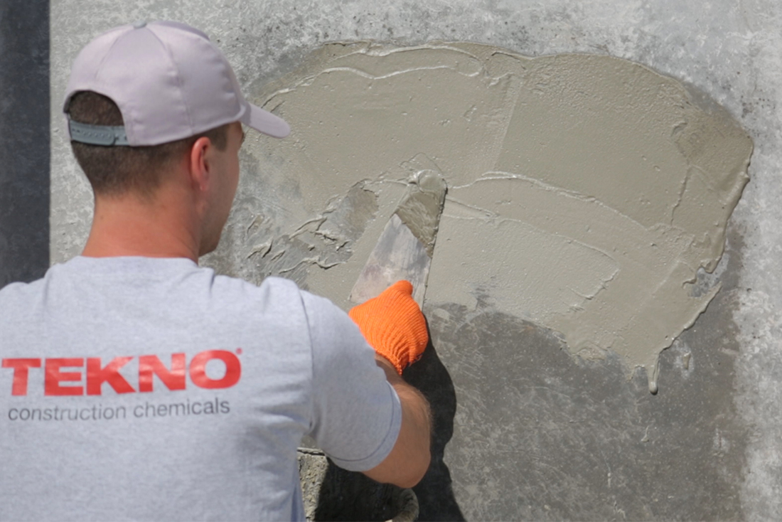 Two-component polymer-cement waterproofing